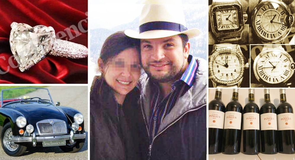 Foto: Los inmuebles, coches de lujo y vinos presuntamente comprados por José Roberto Rincón Bravo con dinero de la petrolera pública PDVSA.