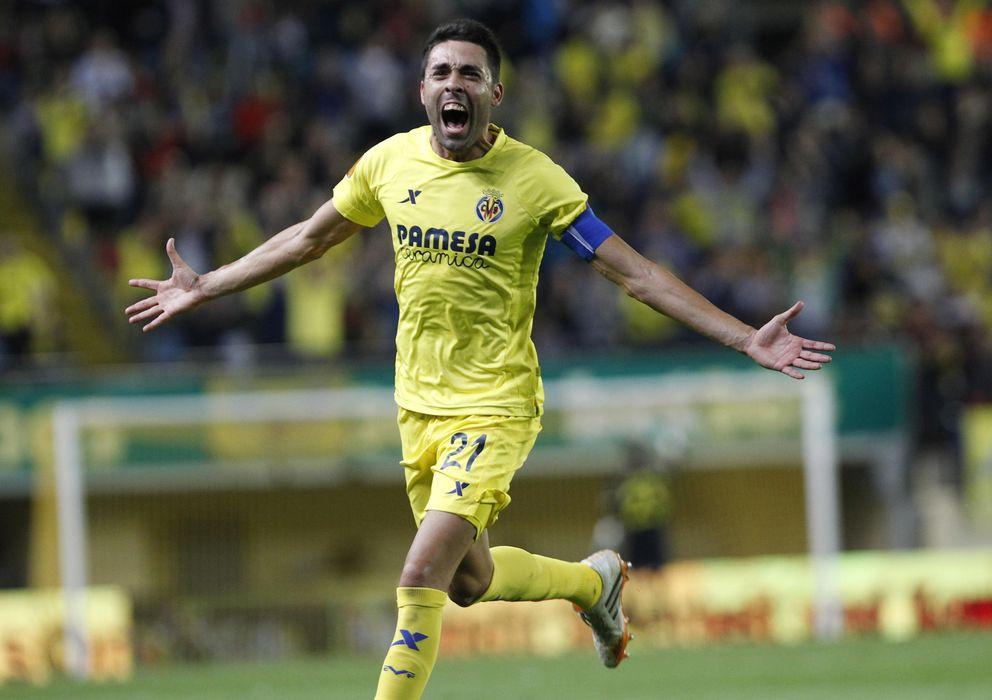 Foto: Bruno Soriano es el alma del Villarreal desde hace años (Reuters)