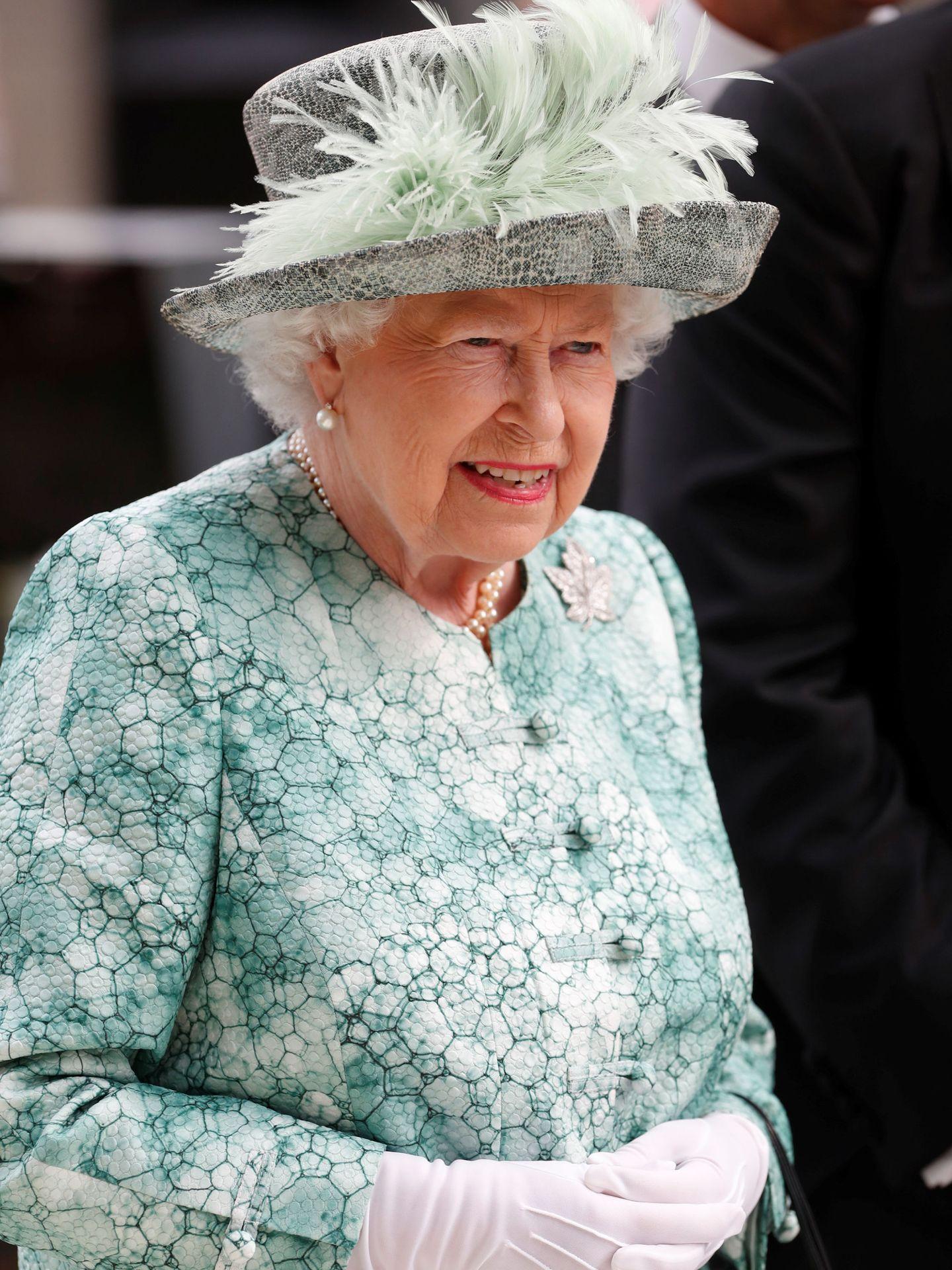 La reina Isabel II en Ascot el año pasado.  (Reuters)