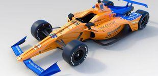 Post de Así es el nuevo McLaren de Fernando Alonso para las 500 Millas de Indianápolis