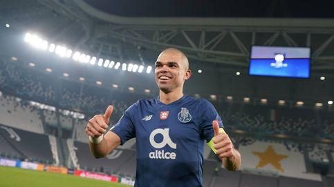Pepe, el central más odiado en España y que Zidane despreció, triunfa con 38 años