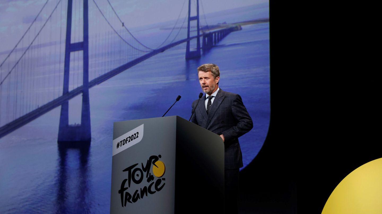 Imagen de la presentación del Tour de Francia. (EFE)