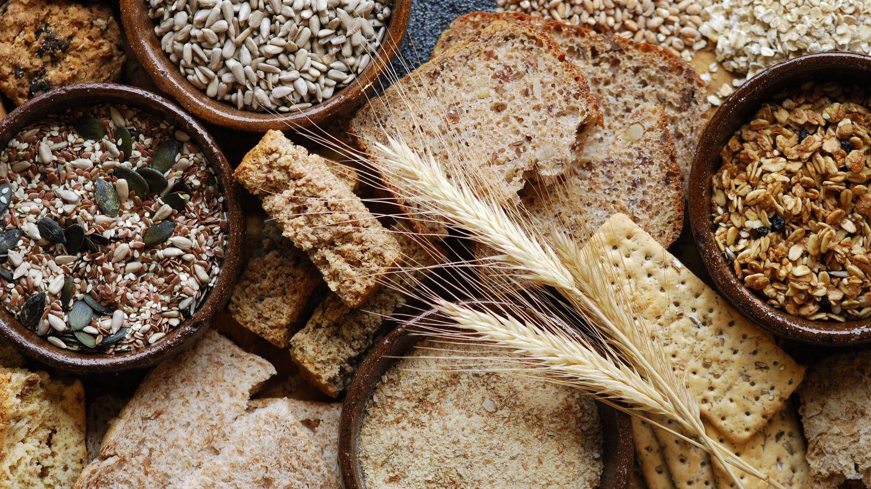 Los cereales integrales, una buena fuente de fibra. (Foto: iStock)