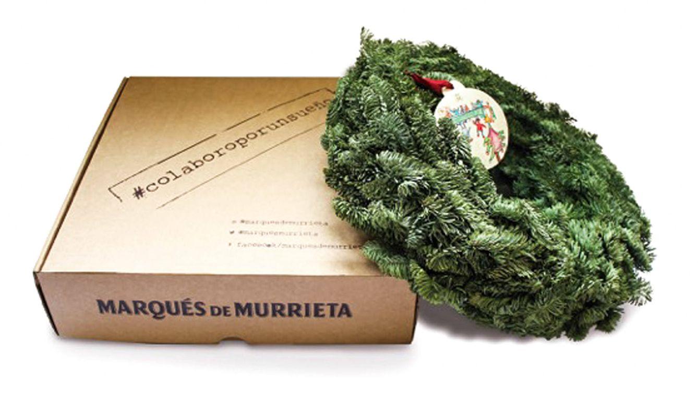 Foto: Corona solidaria de Marqués de Murrieta.
