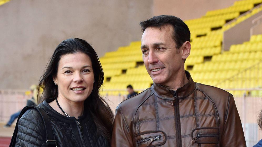 Foto:  El ex de Estefanía con su nueva mujer, Kelly Marie Lancien. (Gtres)