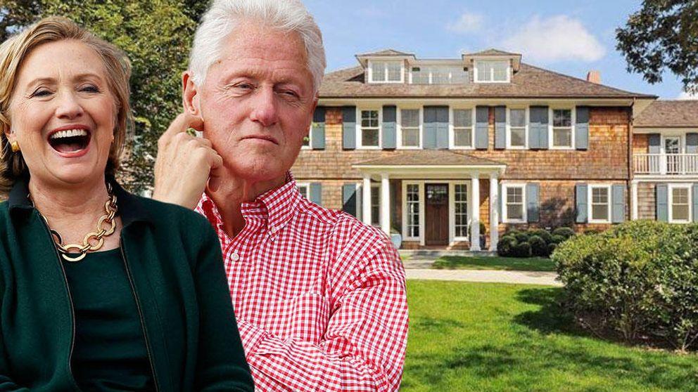 El descanso de los Clinton: en una mansión de 87.000 euros por 15 días