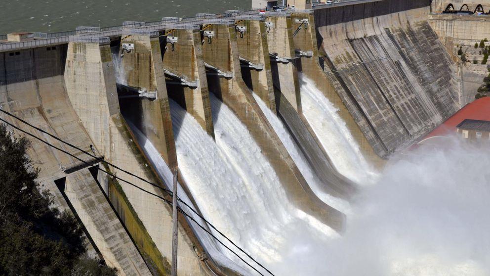 Los embalses, al 73,4% de su capacidad total pese a las lluvias de esta semana