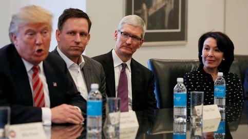 Los grandes gigantes tecnológicos se unen contra Trump
