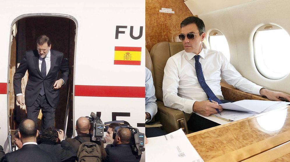 Foto: Mariano Rajoy y Pedro Sánchez. (Montaje: Enrique Villarino)