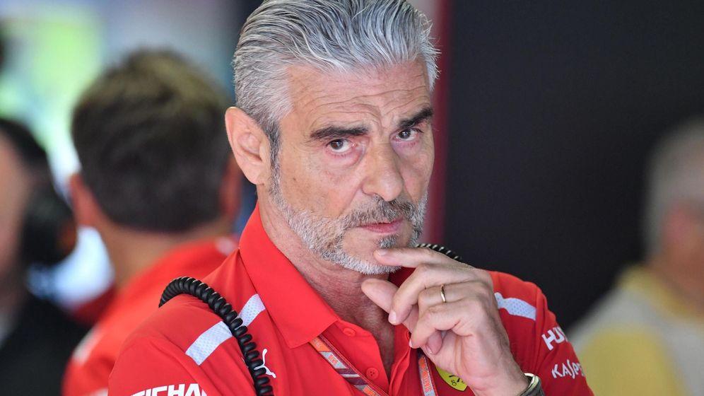 Foto: Maurizio Arrivabene fue jefe de Ferrari entre 2014 y 2018