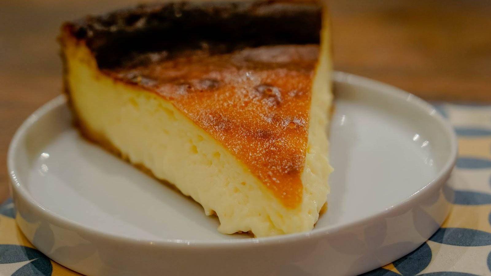 Foto: Tarta de queso ganadora. (Restaurante Kava)
