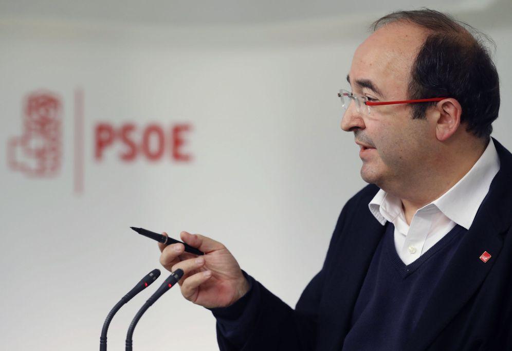 Foto: Miquel Iceta, primer secretario del PSC, el pasado 14 de noviembre en la sede federal, en Ferraz. (EFE)