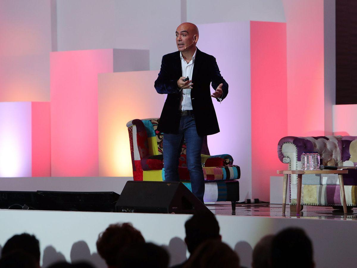 Foto: El empresario y presidente de la cadena hotelera Room Mate, Kike Sarasola. (EFE)