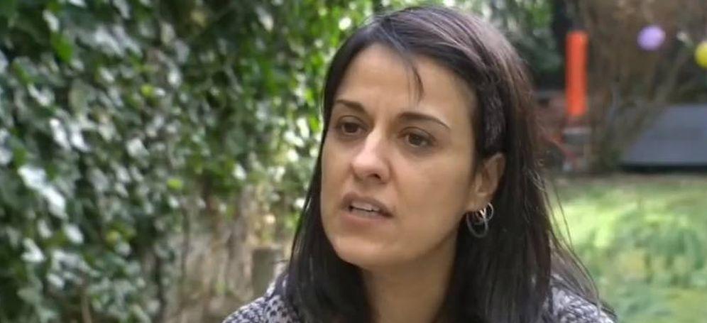 Foto: La exdiputada de la CUP, durante la entrevista que ha concedido a la Radio Televisión Suiza.
