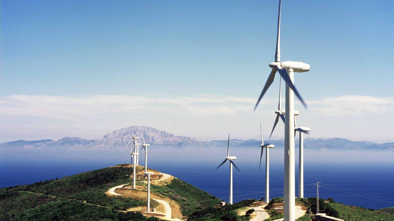 Foto: Parque eólico de Endesa en Tarifa. (Endesa)