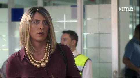 Así luce Paco León, de mujer trans, en la serie 'La casa de las flores' de Netflix