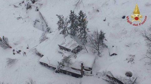 Muertos en un hotel tras una avalancha en Farindola (Italia) tras el fuerte terremoto del 18 de enero