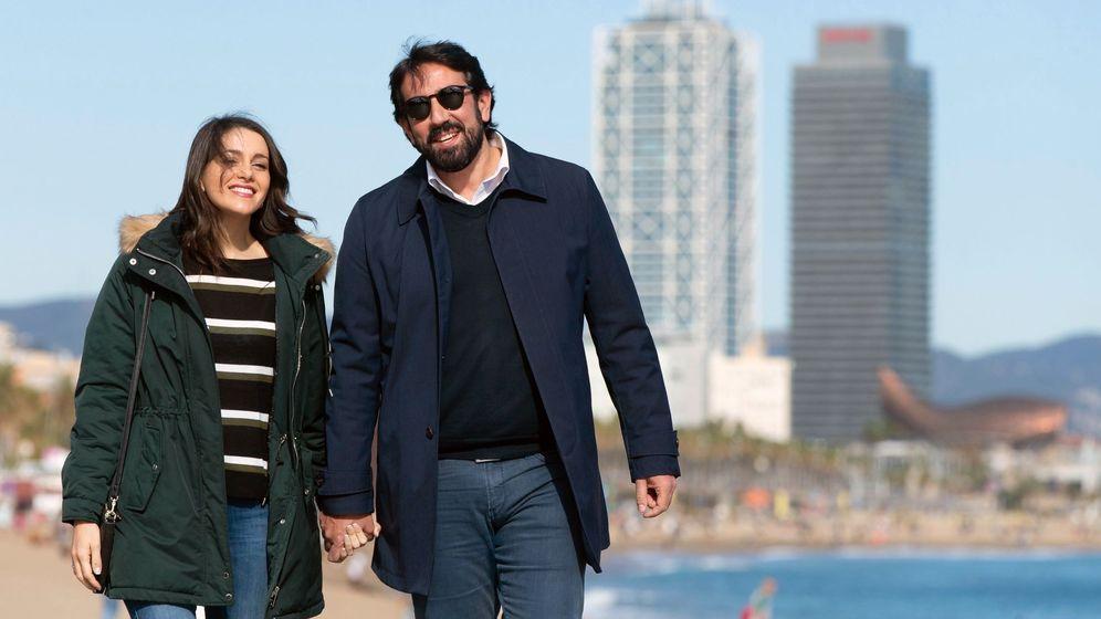 Foto: Inés Arrimadas, y su pareja, Xavier Cima. (EFE)