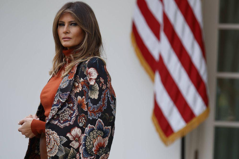 Foto: Melania Trump en una imagen de archivo. (Gtres)