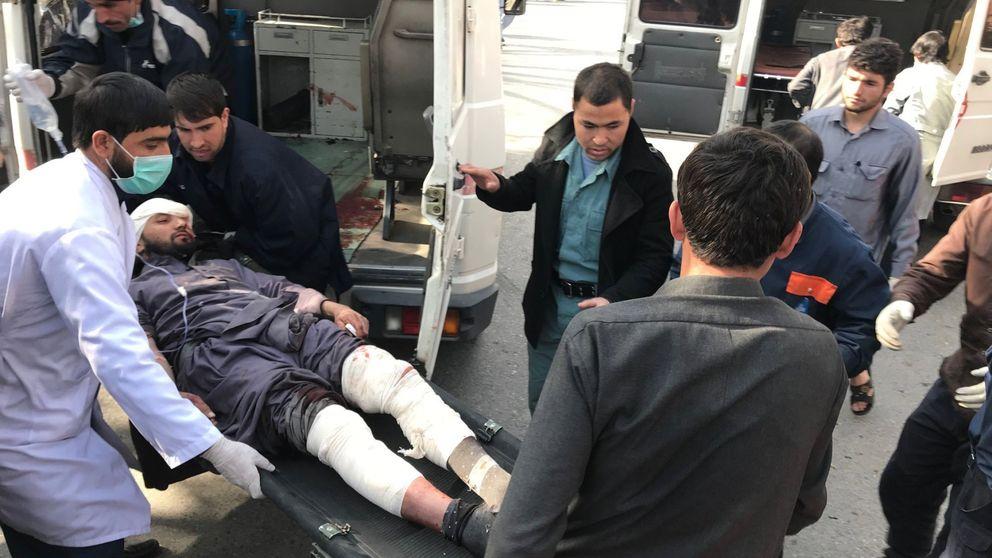 Nuevo balance tras el atentado en Kabul: 103 muertos y 235 heridos