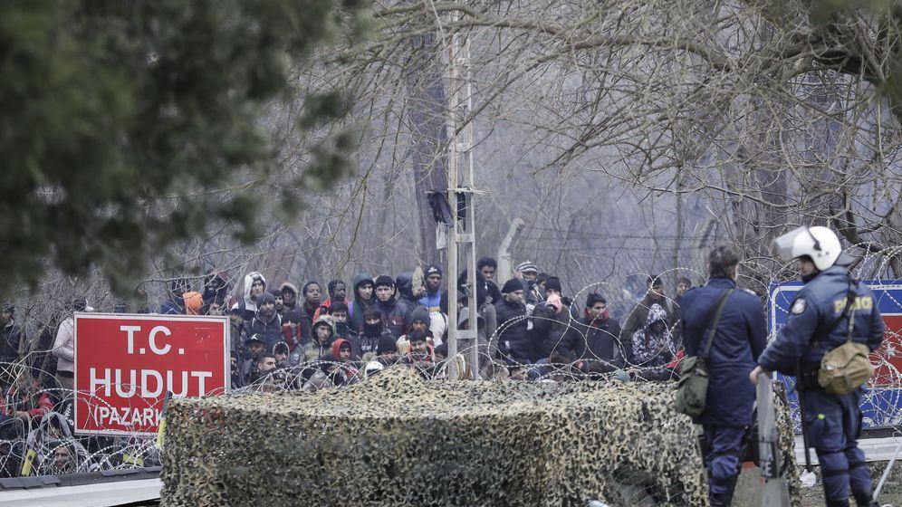 Foto: Frontera entre Grecia y Turquía. (EFE)