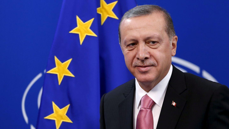 Erdogan, durante una visita al Parlamento Europeo. (Reuters)