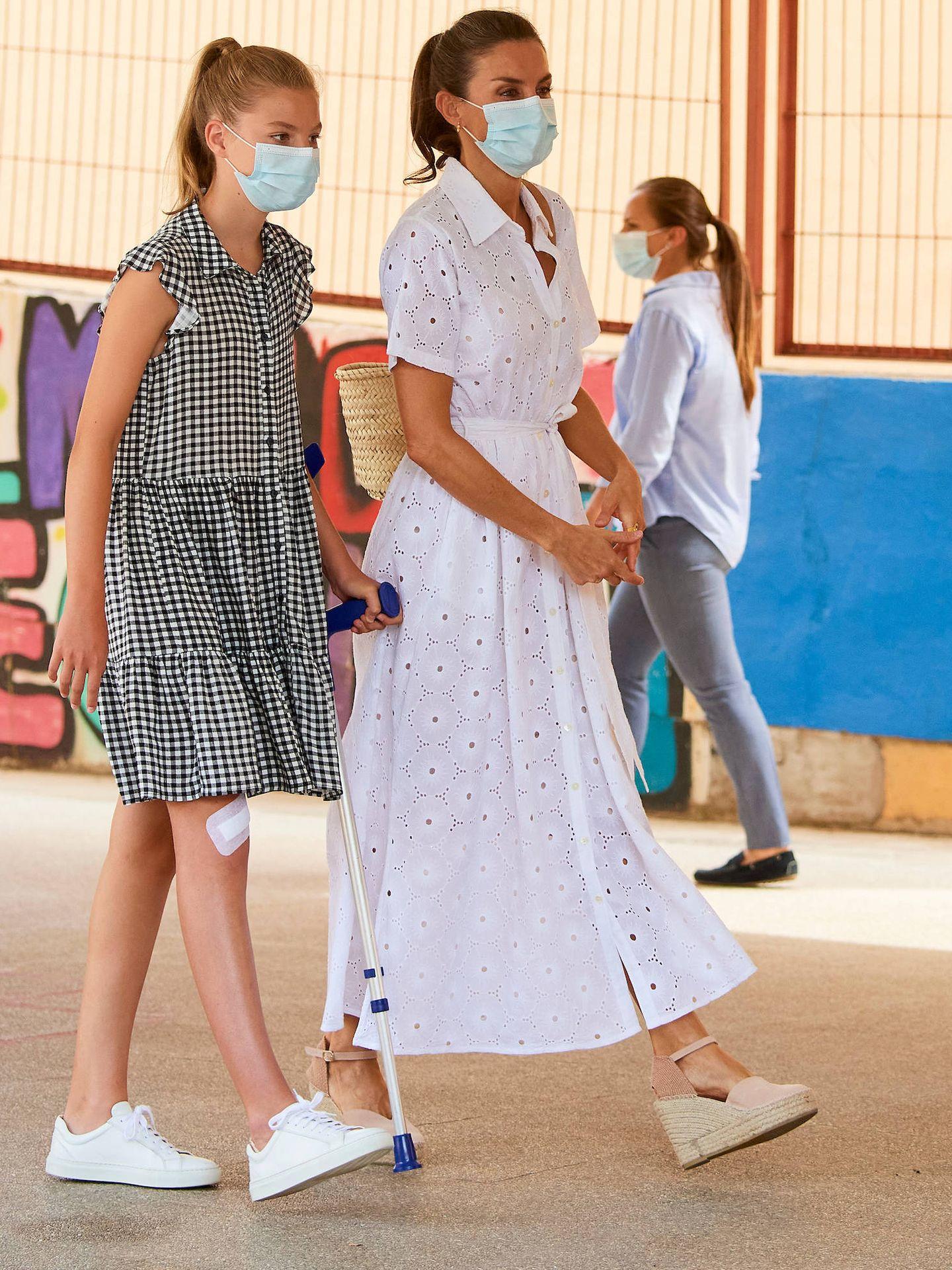 La Reina, con vestido de Vintage Ibiza. (LP)