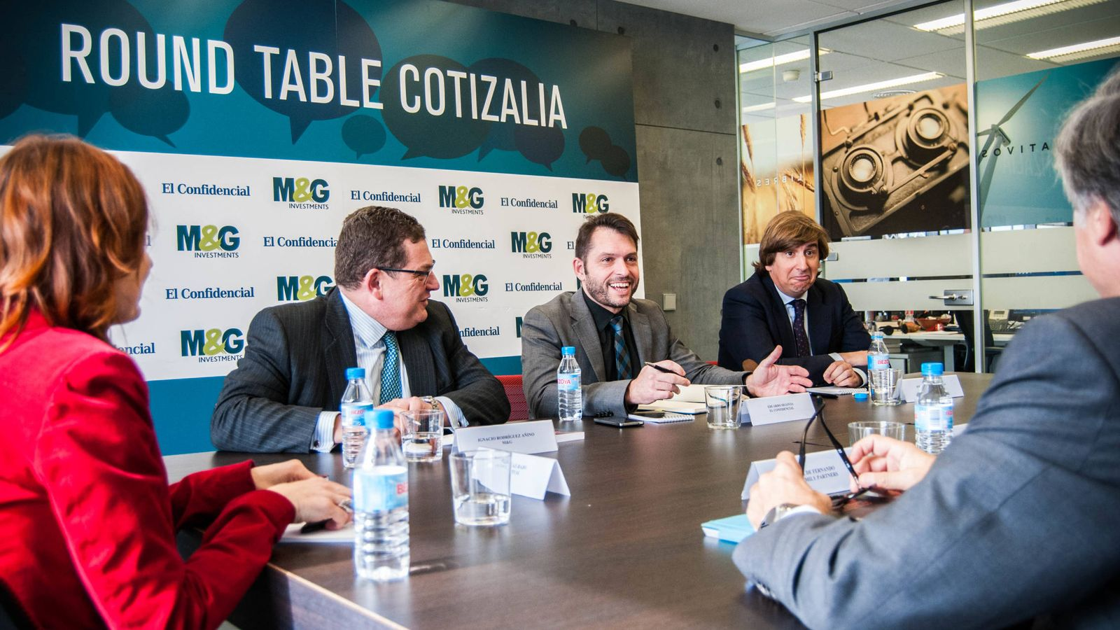 Foto: Round Table de Cotizalia. (Fotos: Carmen Castellón)