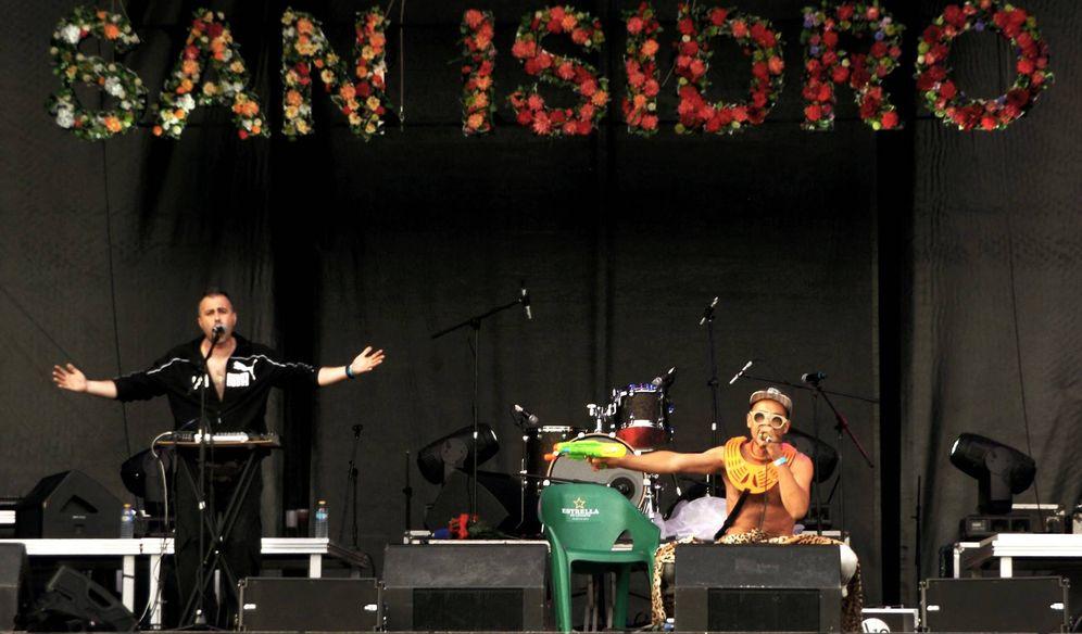 Foto: La banda catalana Émbolo, en su concierto en San Isidro. (Facebook)