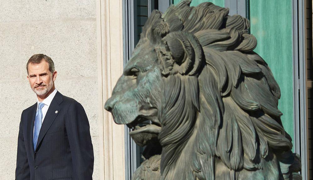 Foto: El rey Felipe VI en el Congreso de los Dipuutados. (EFE)