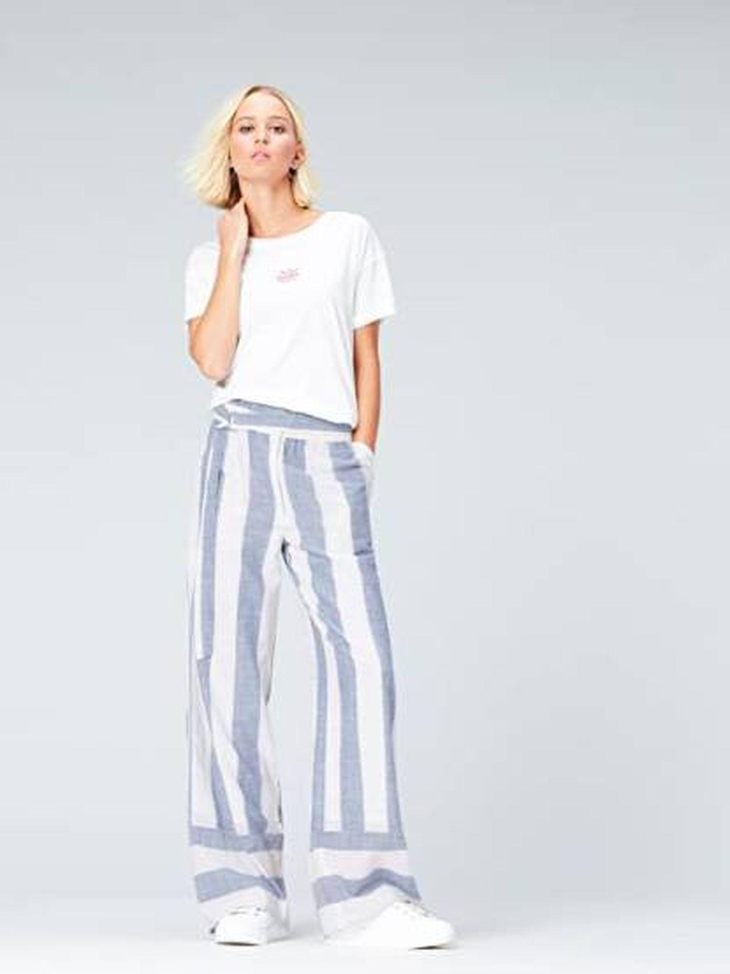 Pantalón de Find ideal para el verano. (Cortesía)