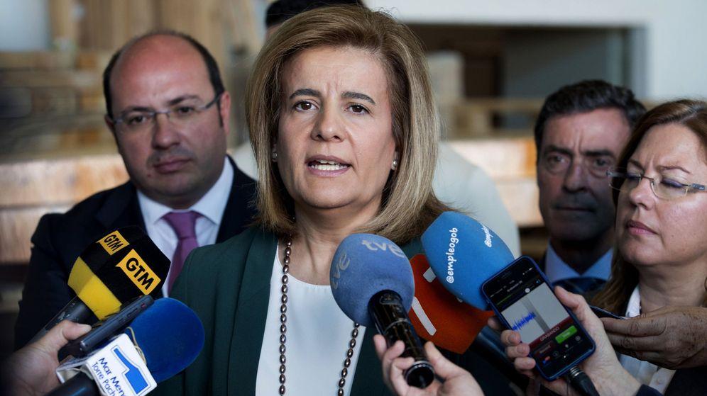 Foto: La ministra de Empleo en funciones, Fátima Bañez . (EFE)