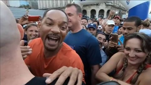 El actor Will Smith participa en la media maratón de La Habana