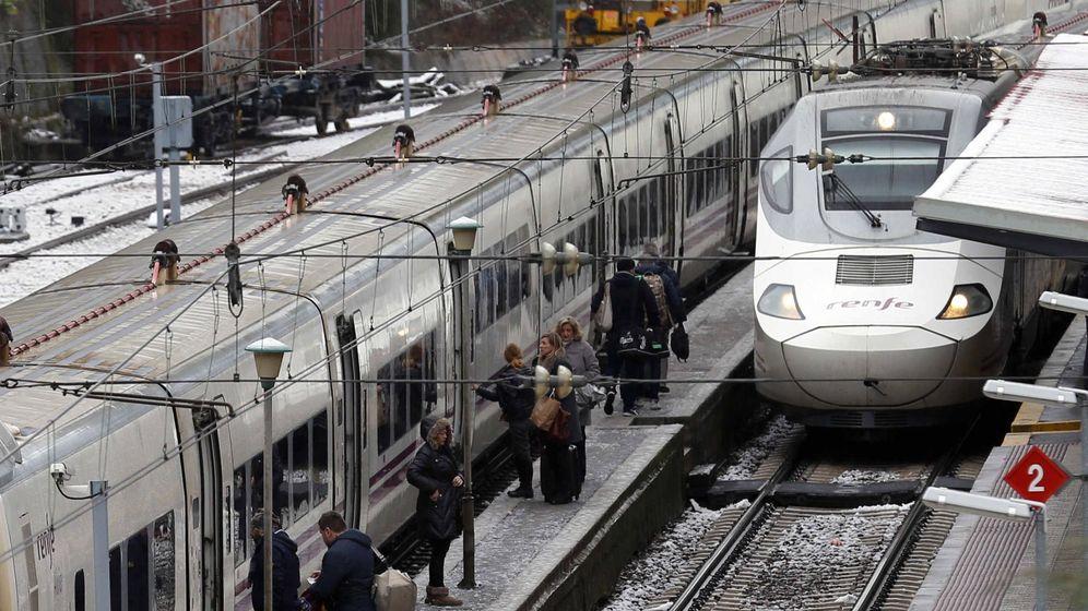 Foto: Trenes de Renfe estacionados. (EFE)