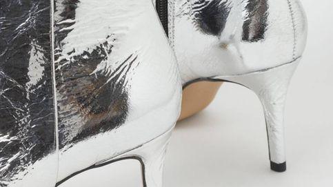 Metaliza tus looks y cada uno de tus pasos con estos increíbles botines de H&M