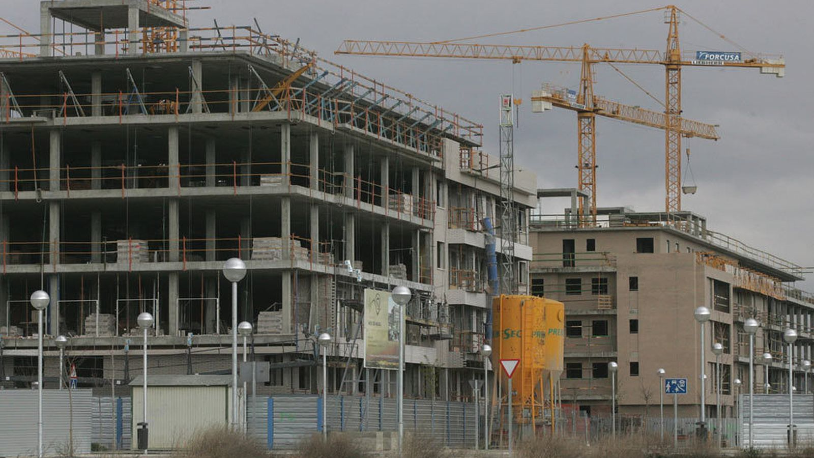 Foto: Promoción de viviendas en construcción. (EFE)