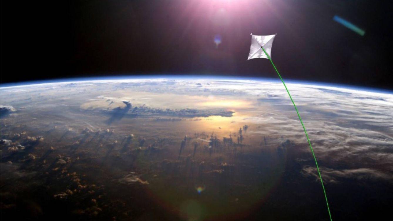 Foto: Ilustración de cómo podría ser una nave espacial de este tipo. (NASA)