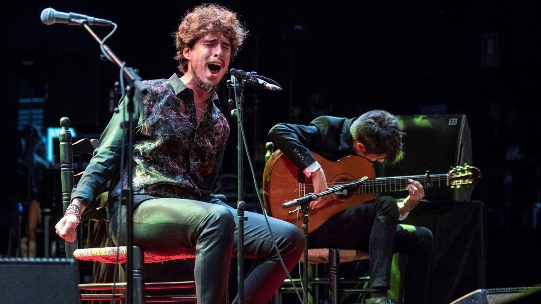 Kiki Morente, en un concierto en Cartagena. (EFE)