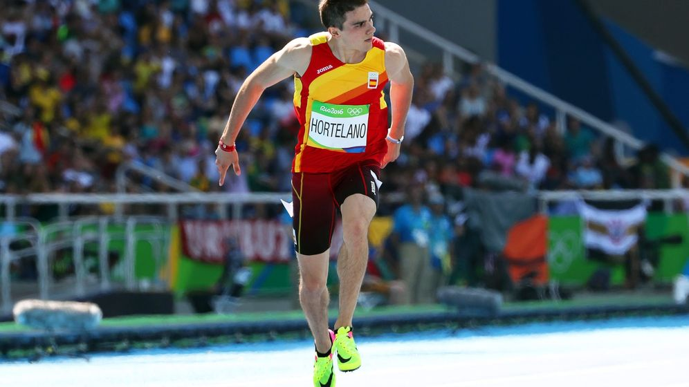 Foto: Hortelano en las series de Río 2016. (Srdjan Suki/EFE)