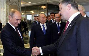La bolsa rusa se dispara más de un 5% tras el alto el fuego en Ucrania