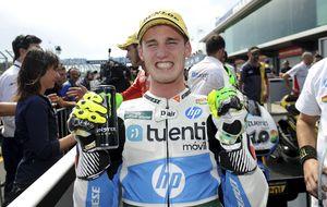 Espargaró se pone líder en Moto2 y Alex Rins gana al 'esprint' en Moto3