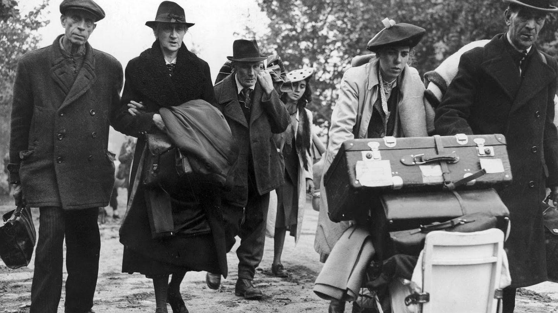 Refugiados en Alemania, 1945
