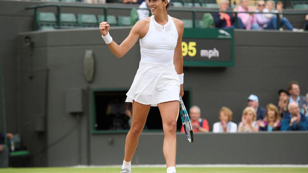 Garbiñe se impone a Kuznetsova  y se cuela en las semifinales de Wimbledon