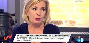 Post de Carmen Borrego habla públicamente sobre el suicidio de su padre