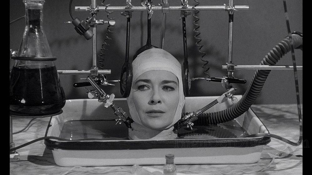 Foto: Fotograma de la película de 1962 'El cerebro que no quería morir'
