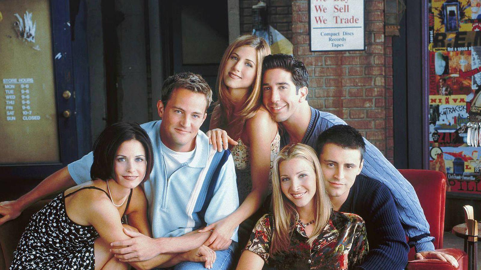 Foto: Actores principales de 'Friends'