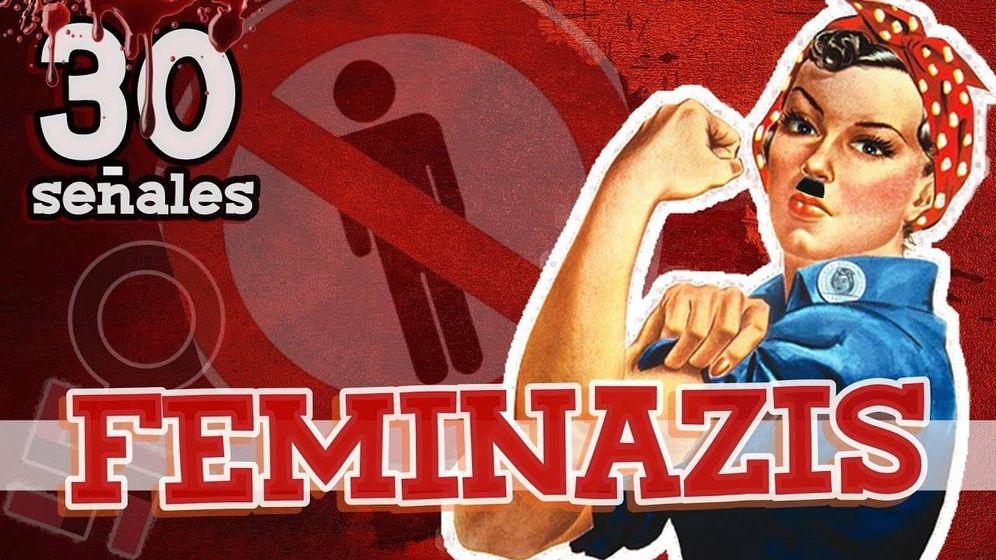 Foto: Si no tuviste miedo de Hitler, prepárate para una dictadura aún mayor: la de las feminazis.