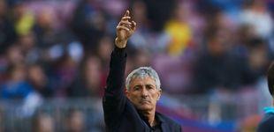 Post de Mientras dure Quique Setién o cómo prepara el asalto del Barcelona al Santiago Bernabéu