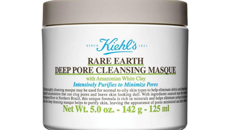 Rare Earth Deep Pore Cleansing Mask de Kiehl's.