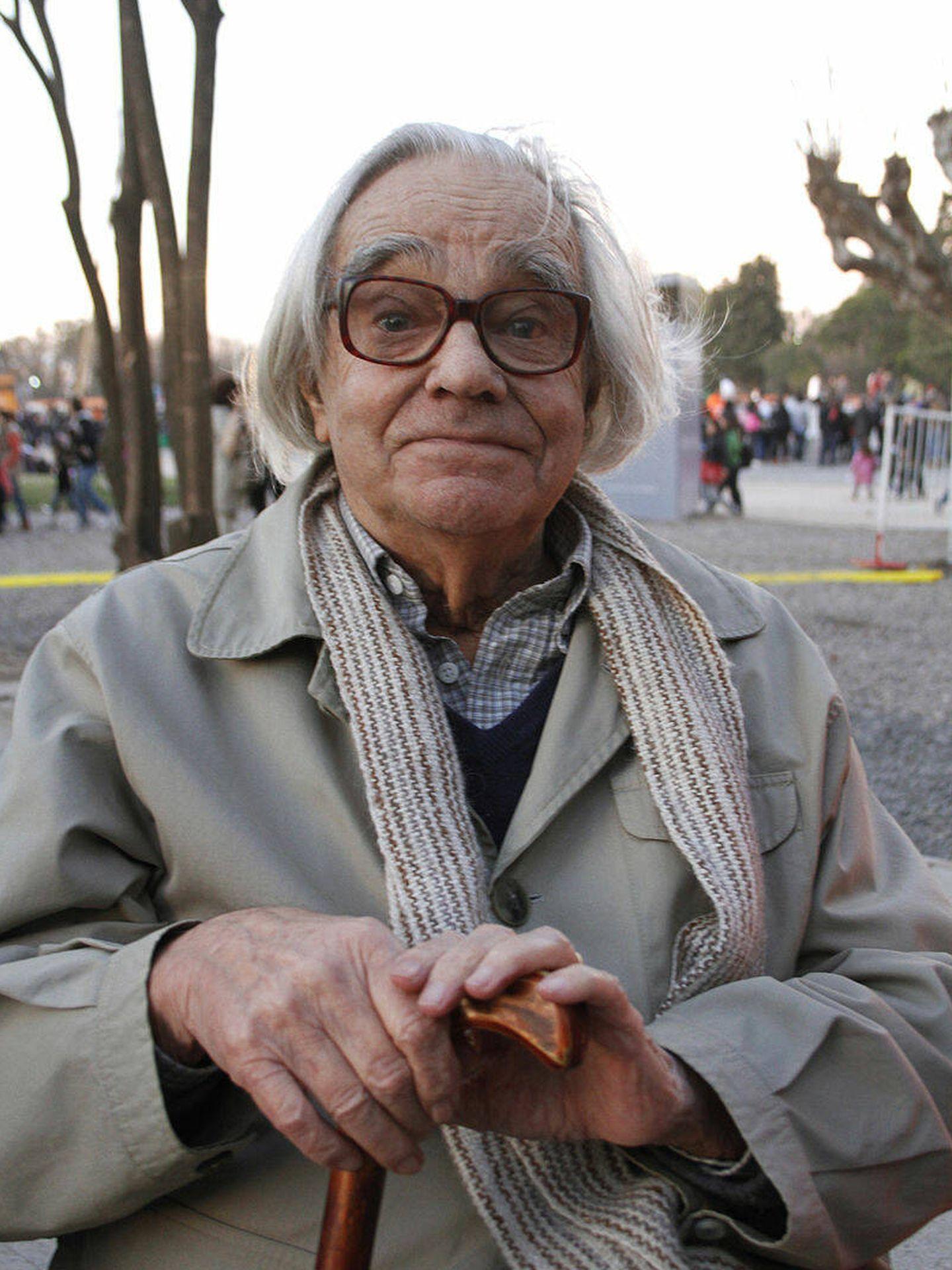 León Ferrari, artista argentino creador de 'La civilización occidental y cristiana' (Mariano Sanda)
